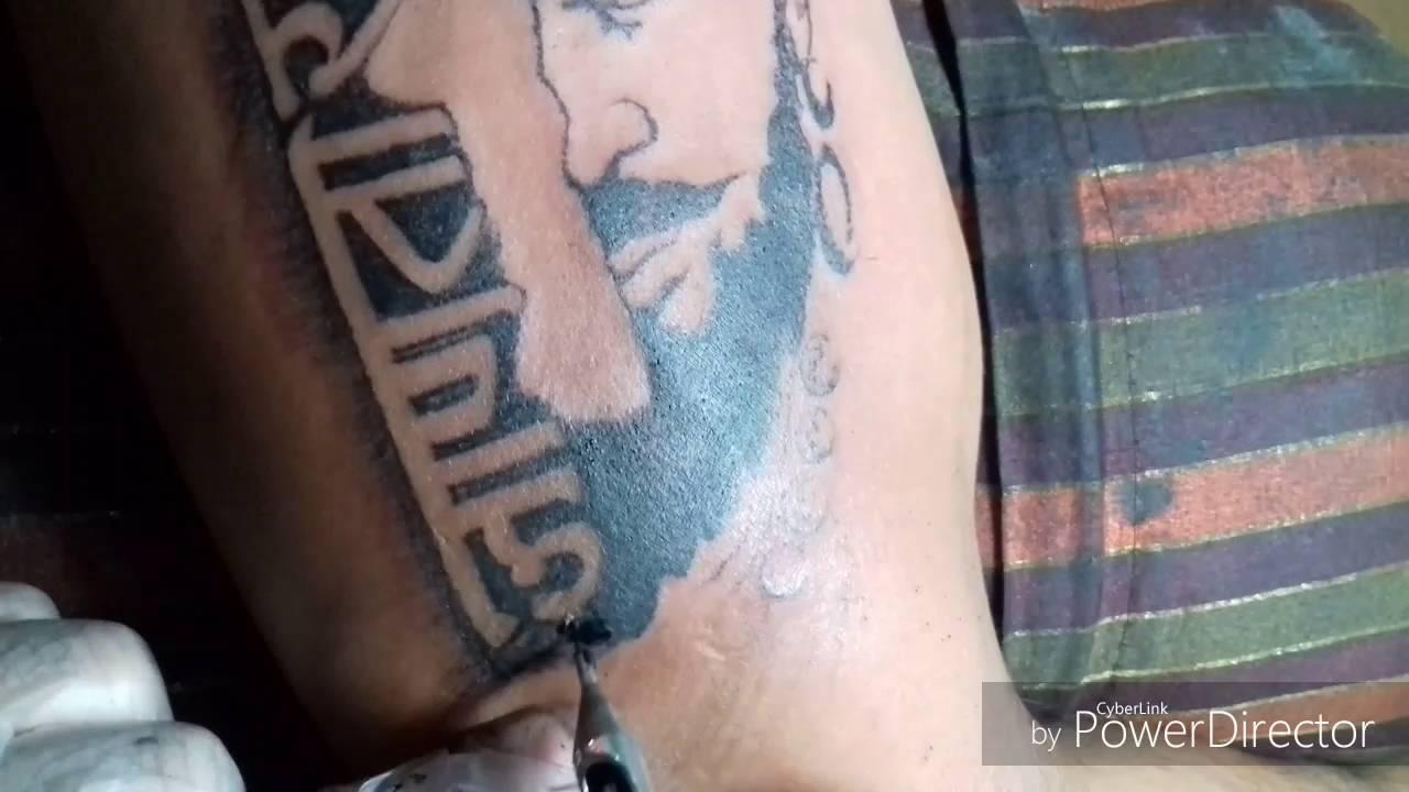 shivaji maharaj tattoo by artist sandip uttam   youtube
