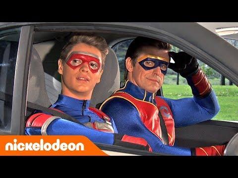 Henry Danger  Viagem de carro 🚗  Portugal  Nickelodeon em Português