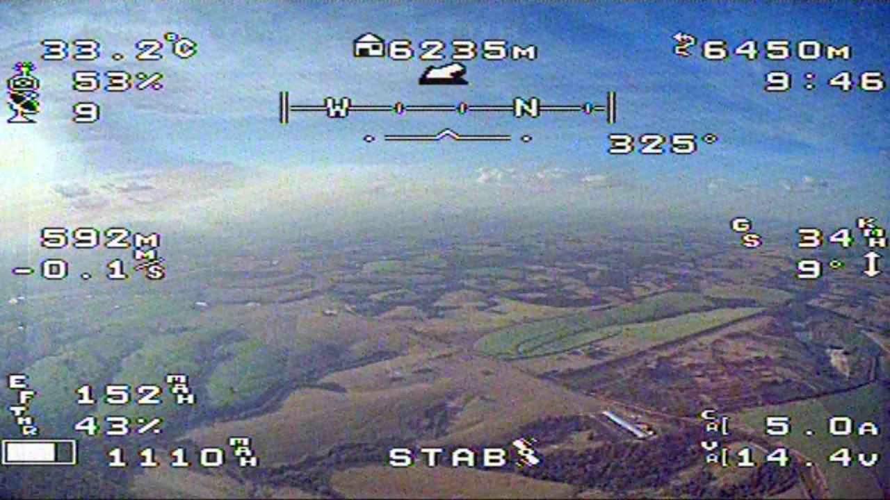 Mini Talon Fpv 9km. фото