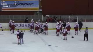 INSANE high school HOCKEY FIGHT! CSK Moscow vs HC 05 (COACHES FIGHT!)