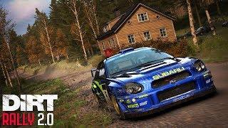 нОВАЯ SUBARU и новый этап карьеры на максимальной сложности  DiRT Rally 2.0