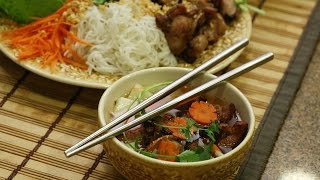 How to make Vietnamese Grilled Pork called Bun Cha
