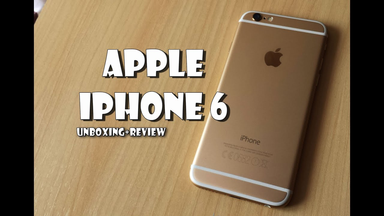 iphone 6 16gb gold review unboxing youtube. Black Bedroom Furniture Sets. Home Design Ideas