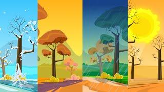Seasons Song | The Four Seasons | Nursery Rhyme Song For Kids | Original Songs | Kids TV