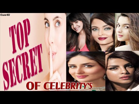 OMG !! Bollywood Celebrities Beauty Secrets For Fair,Bright & Glowing Skin | Care4U