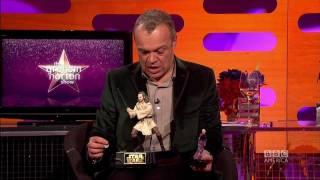 LIAM NEESON & PATRICK STEWART: Battle of the Action Figures (The Graham Norton Show)
