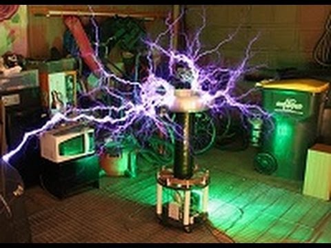Satisfaction by Benny Benassi on Singing Tesla Coil - Musical DRSSTC