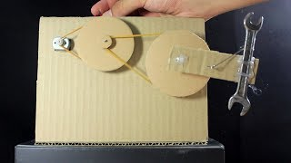 How To Make Strong Gear  From Cardboard  at home | Motor (RPM) Gear Speed