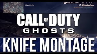 COD Ghosts: Throwing Knife Montage (Call of Duty Ghosts Knife Montage)