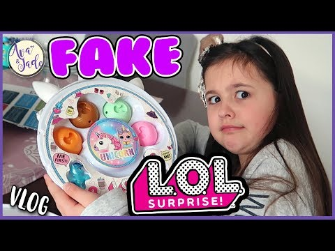 FAKE LOL Puppen...Was haben wir uns dabei gedacht?? 😂 Our Life Ava and Jade Vlog