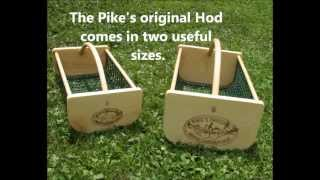 Garden Hod Basket Vegetable Harvesting Basket. Pick, clean and display your fruits and vegetables wi