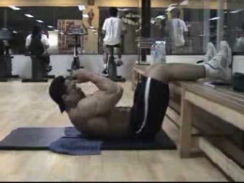 การฝึกกล้ามท้อง/ สิทธิ เจริญฤทธิ์