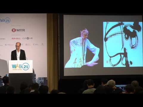 Walk21 Hong Kong Conference | Mr. Earle Briggs  | Day 1