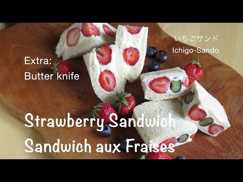 sandwich-aux-fraises-/strawberry-sandwich-/ichigo-sando-/いちごサンド/recettes-japonaises/japanese-recipes