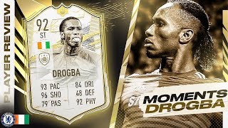 SHOULD YOU DO THE SBC??🤔 92 PRIME ICON MOMENTS DROGBA REVIEW! FIFA 21 Ultimate Team