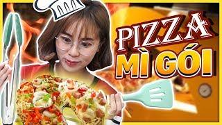 Misthy lần đầu nấu Pizza MÌ GÓI??? Thảm hoạ hay Siêu Phẩm || BONUS STAGE