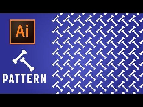 How To Create A Cutesy Bone Pattern In Adobe Illustrator Tutorial - (Urdu/Hindi) thumbnail