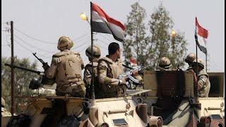 أخبار عربية | الجيش المصري يقتل 40 إرهابياً شمال #سيناء