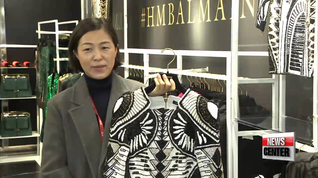 f12471a3 Shoppers pull up camp as Balmain and H&M collaboration hits Korea ...