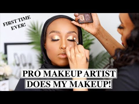 A REAL PRO MAKEUP ARTIST DOES MY MAKEUP...IS THERE A DIFFERENCE?! | Aysha Harun thumbnail