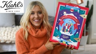 KIEHLS ADVENT CALENDAR 2019 UNBOXING AND REVIEW - BEAUTY ADVENT CALENDAR