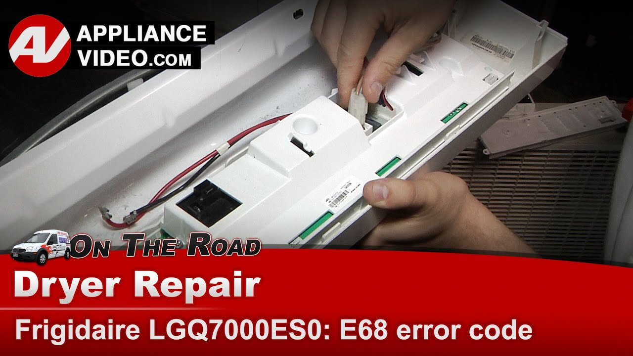 Lg Dryer Repair Diagnostic E68 Error Code Main Control Board Electric Wiring Http Wwwsearspartsdirectcom Partsdirect Part