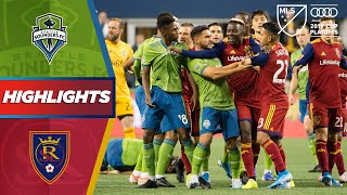 Seattle Sounders vs. Real Salt Lake | A Straight Red Card! | HIGHLIGHTS