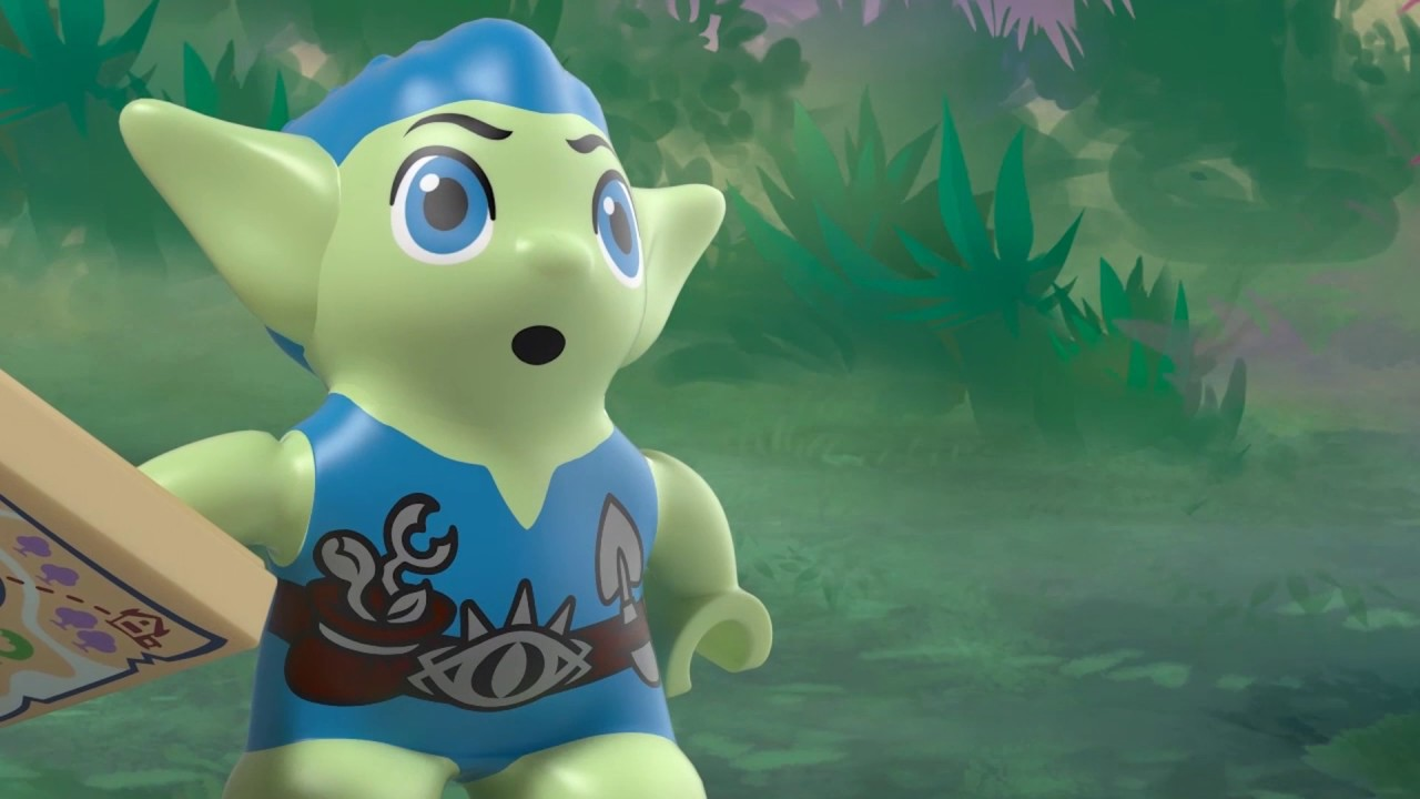 Azari & the Goblin Forest Escape - LEGO Elves - Product Animation 41186