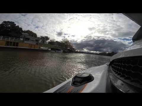 Jet Skiing on the Wanganui river
