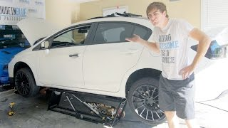 Are QuickJack Portable Car Lifts Worth It? - Changing an Exhaust On a Honda Civic