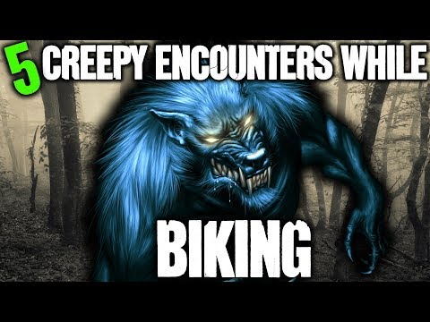 5 CREEPY Things Seen While Biking