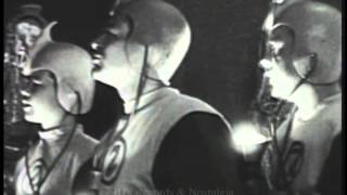 CAPTAIN Z-RO. The Great Pyramids Episode. 1950's Time Travel / Science Fiction TV Program