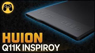 Huion Q11K Inspiroy - Графический планшет для всего. Распаковка и Обзор от Арталаски
