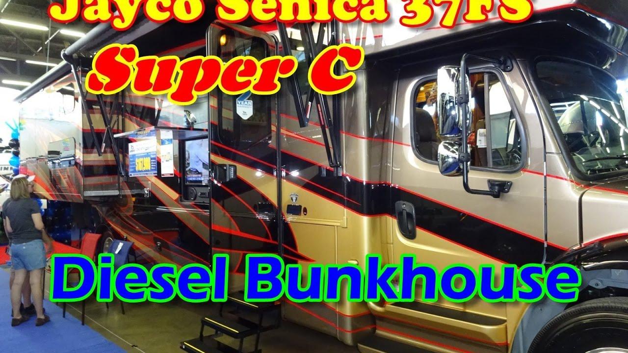 Dallas Rv Show 2020.Super C Bunkhouse Rv Jayco Senica 37fs From The Dallas Rv Show 2017