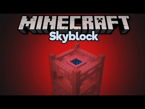 The Skyblock Nether Fortress! ▫ Minecraft 1.15 Skyblock (Tutorial Let's Play) [Part 7] thumbnail