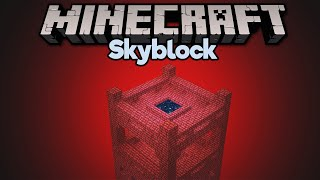 The Skyblock Nether Fortress! ▫ Minecraft 1.15 Skyblock (Tutorial Let's Play) [Part 7]