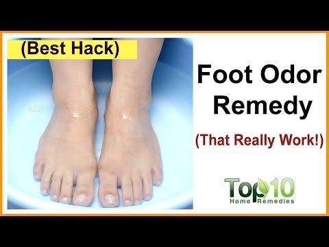Foot Odor Home Remedy