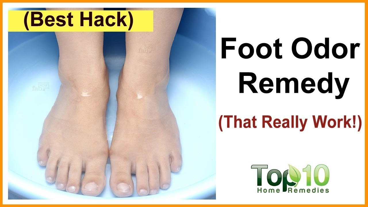 How to treat foot odor or smelly feet with home remedies forecast
