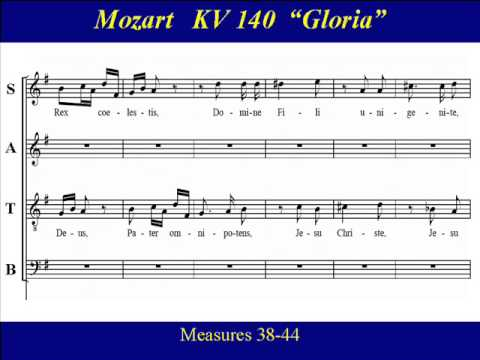 Bass Mozart KV140 - 2 Missa Brevis Gloria