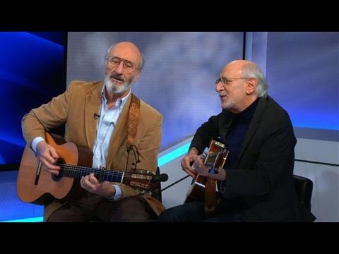 Peter and Paul Sing 'Blowin' in the Wind'