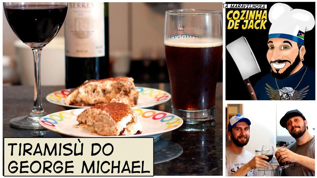 Tiramisù do George Michael   A Maravilhosa Cozinha de Jack ...