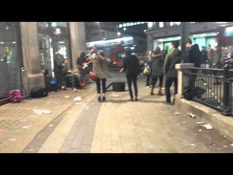Brilliant #busking rendition of The Police (Sting) - Message In A Bottle