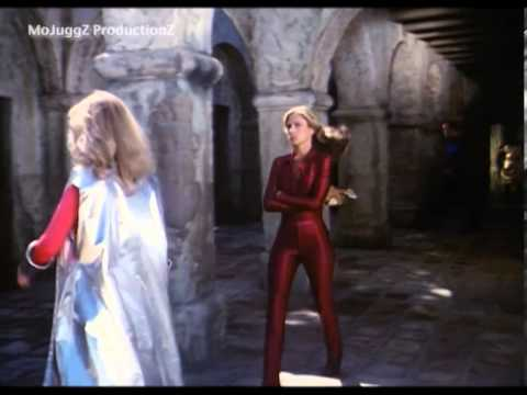 Something is. erin gray spandex