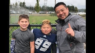 Coach Lets Nose Tackle and Center Run the Ball | 2nd Half Game #6 | TigerFamilyLife~