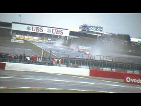 2011 F1 British Grand Prix - First Lap