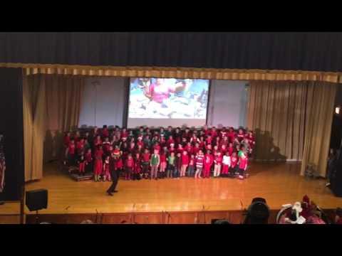 Leo's kindergarten Christmas program song