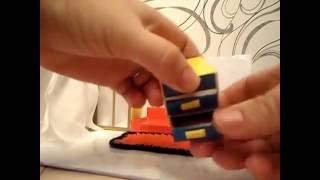 Поделка для детского сада Как сделать мебель для кукол своими руками Просто и быстро