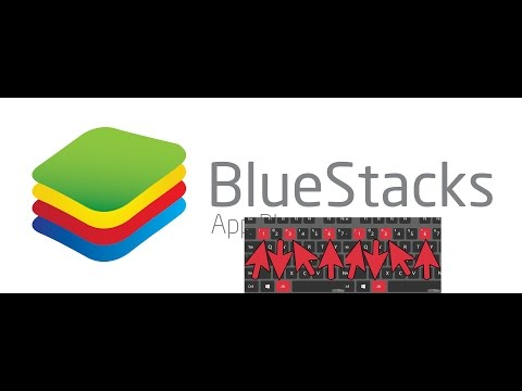 Como habilitar acentuação gráfica no teclado do BlueStacks e dar Zoom