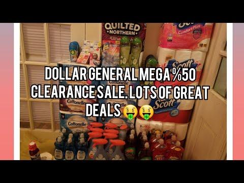 DOLLAR GENERAL MEGA %50 CLEARANCE SALE. LOTS OF FREEBIES 🤑🤑