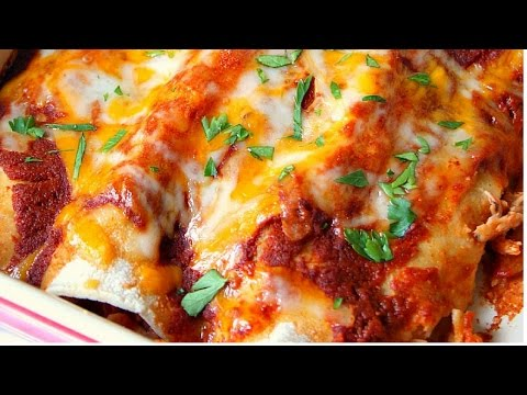 Easy and The Best Chicken Enchiladas Recipe